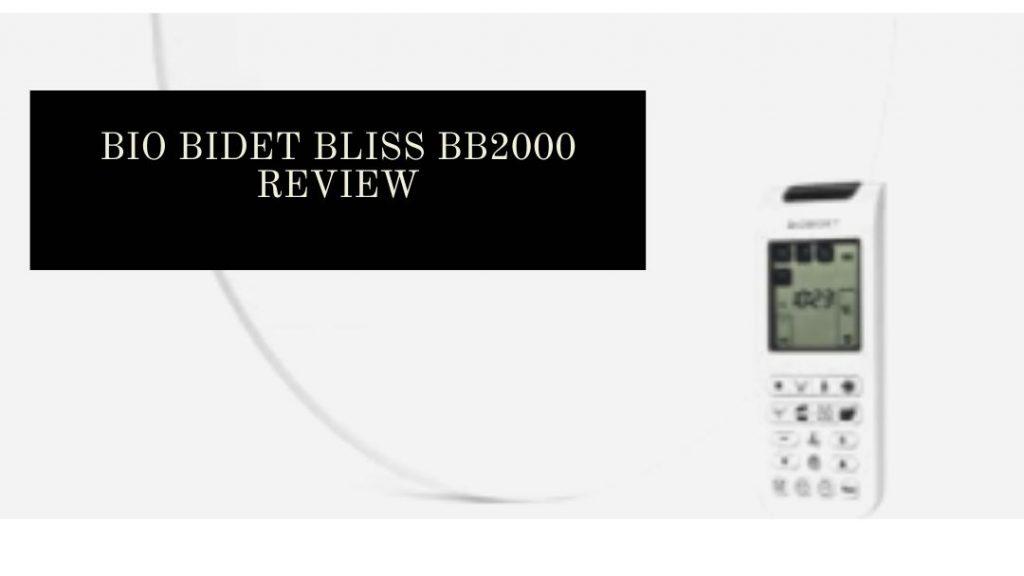 Biobidet Bliss bb2000 Review Banner
